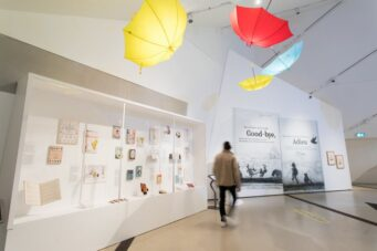 Winnie The Pooh exhibit at the Royal Ontario Museum in Toronto
