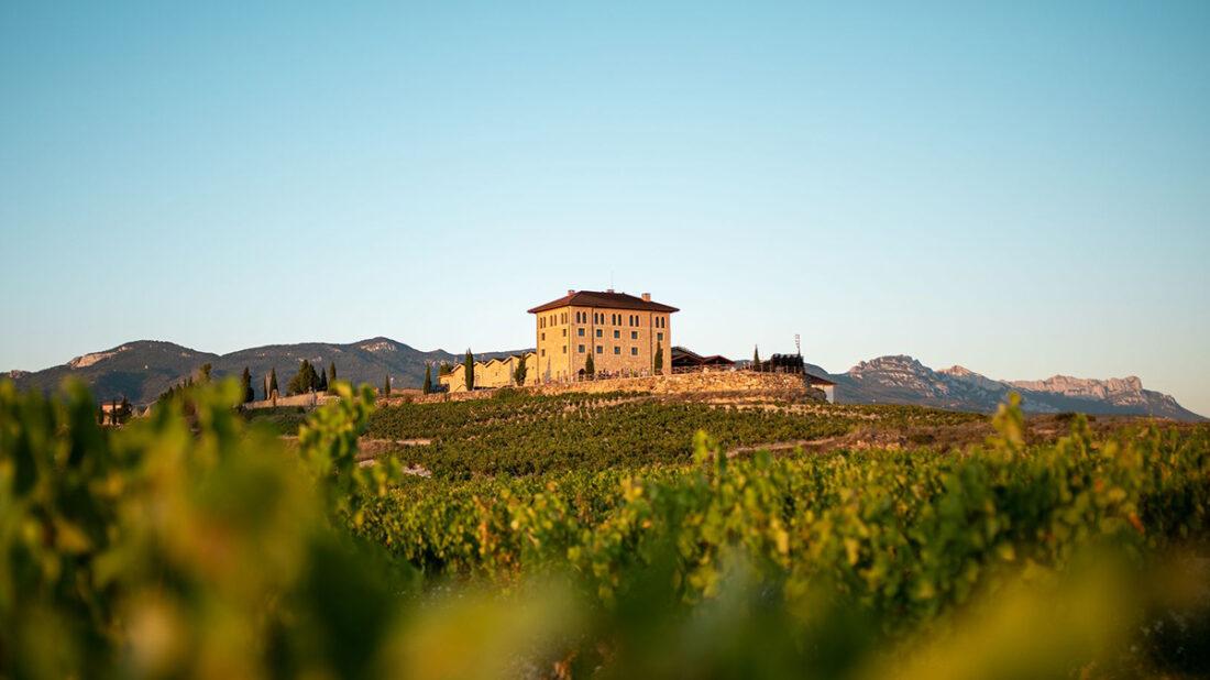 Hacienda Lopez De Haro winery in Rioja, Spain.