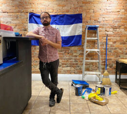 Rene Rodriguez, the owner of Casamiento, in his new space at Dupont and Shaw.