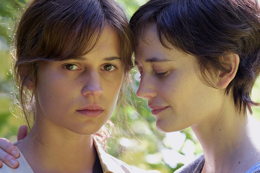 Alicia Vikander and Eva Green in Euphoria
