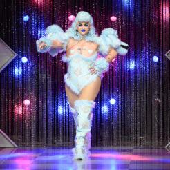 A photo of Ilona Verley on season 1 , episode 3 of Canada's Drag Race