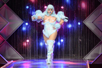 A photo of Ilona Verley on season 1 , episode 3 of Canada's Drag Race