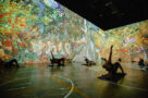 A photo of fitness classes in Immersive Van Gogh