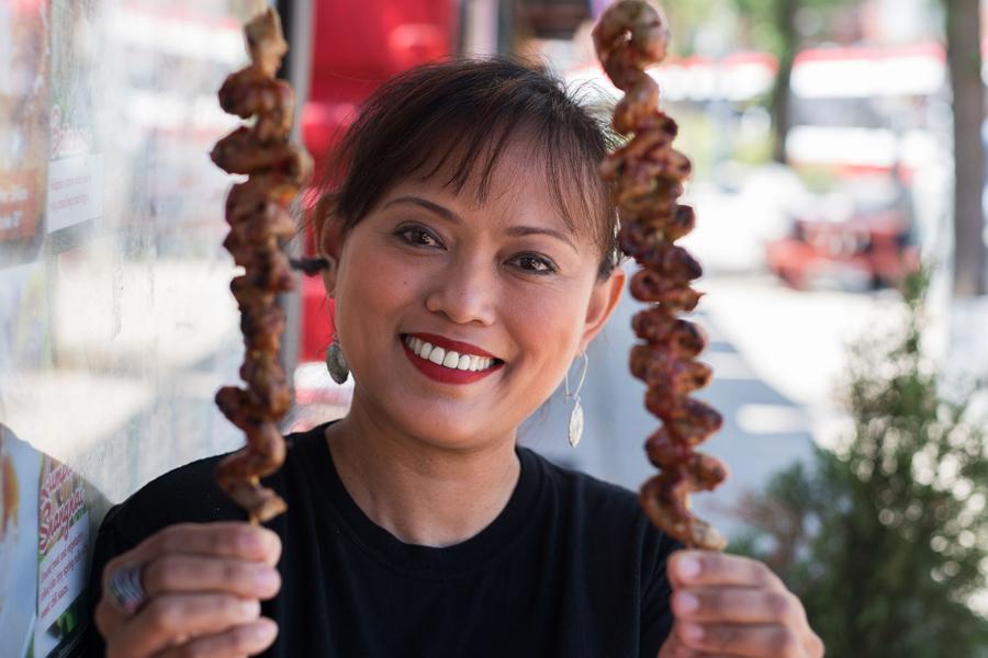 Kanto by Tita Flips owner-chef Diona Joyce.