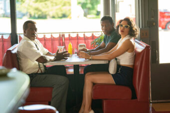 Courtney B. Vance, Jonathan Majors and Jurnee Smollett in HBO's Lovecraft Country