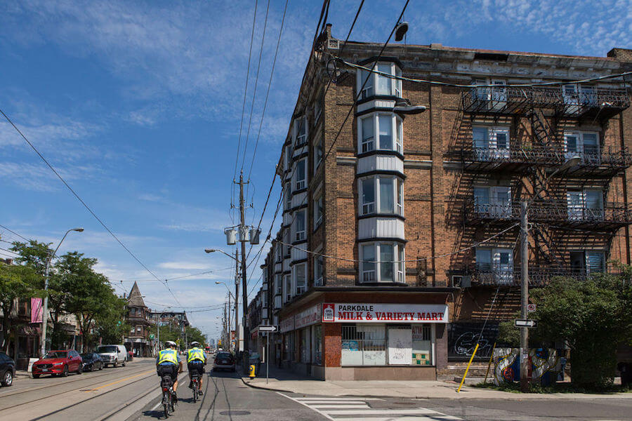 A photo of Parkdale, Toronto