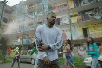 A photo of Jamie Foxx in Project Power