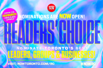 NOW Magazine Readers' Choice 2020 graphic