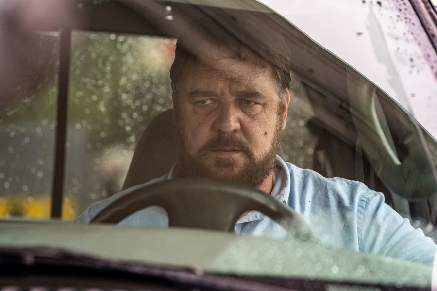 Russell Crowe as The Man (yep, really) in Unhinged.