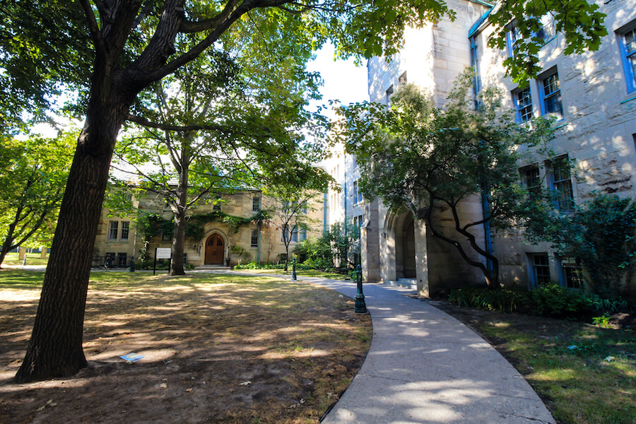 A photo of the University of Toronto's St. George Campus