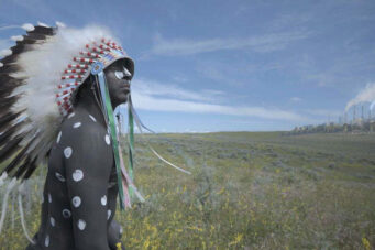 A photo from the movie Inconvenient Indian, which explores indigenous identity