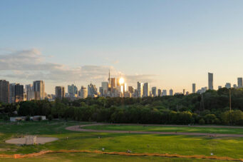 A photo of Toronto for post-pandemic future story