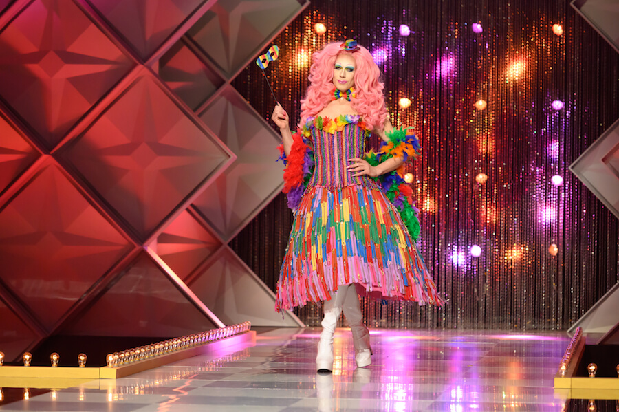 A photo of Jimbo from Canada's Drag Race