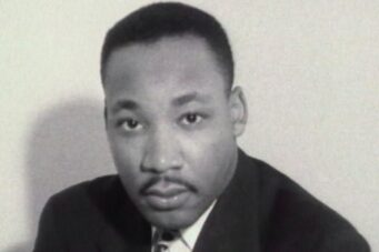 A still image of Martin Luther King, Jr.
