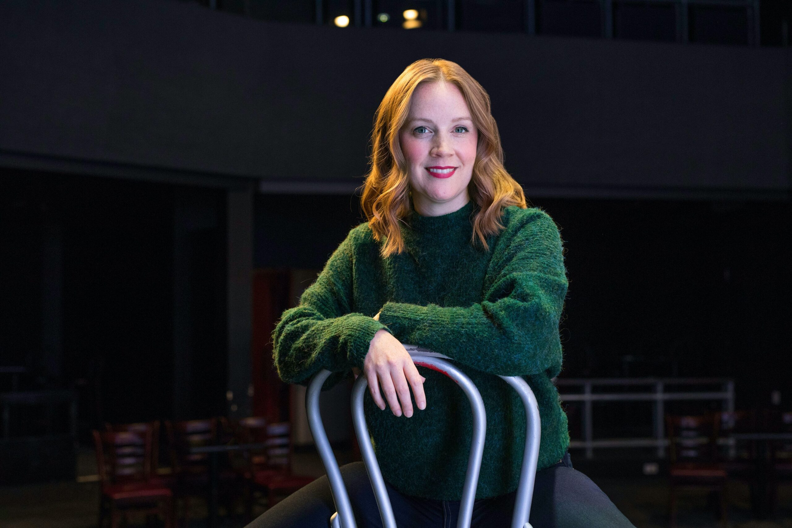 Natalie Metcalfe unmasks new Second City show
