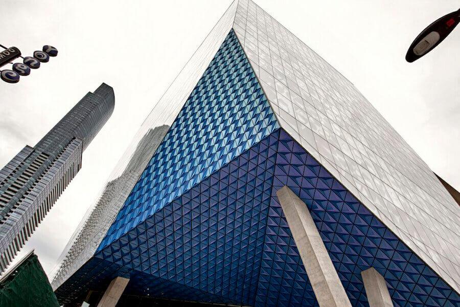 A photo of Ryerson University in Toronto