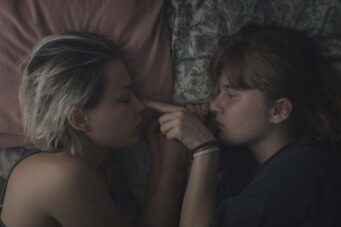 Whitney Lafleur and Marguerite Bouchard in Shooting Star.