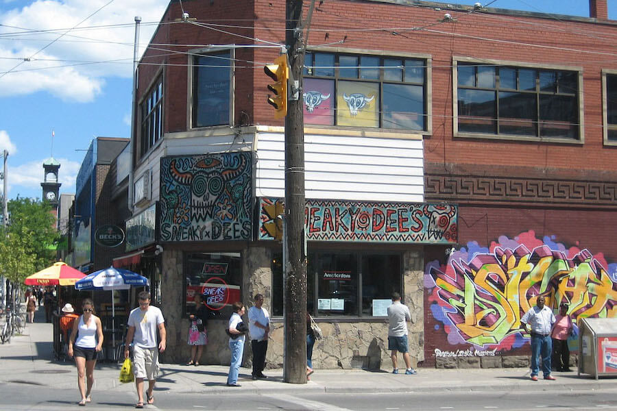 A photo of Sneaky Dee's at College and Bathurst