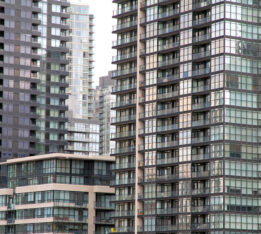 A photo of condos in Toronto