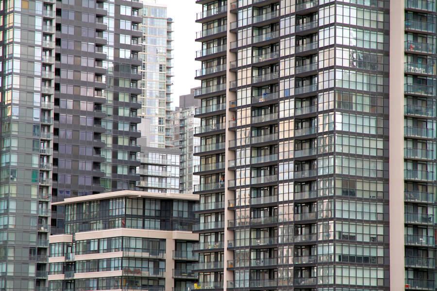 A photo of condos in Toronto