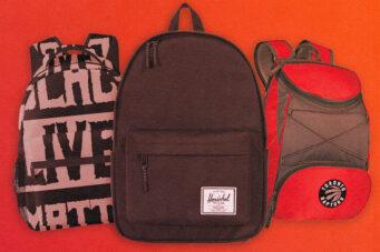 A photo of knapsacks