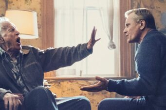 Lance Henriksen and Viggo Mortensen in Falling.