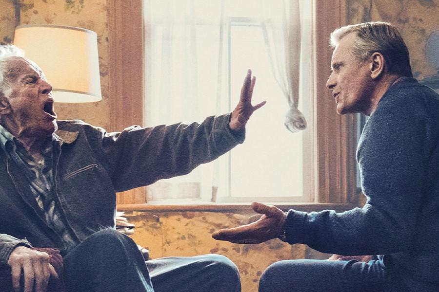 Lance Henriksen and Viggo Mortensen in Falling.