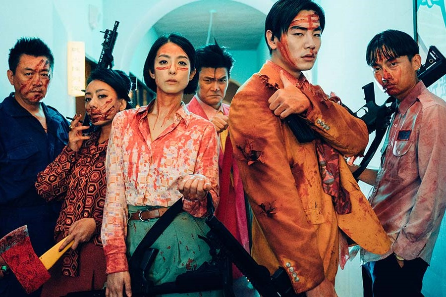 Megan Lai and Bruce Ho prepare for battle in TIFF's Get The Hell Out.