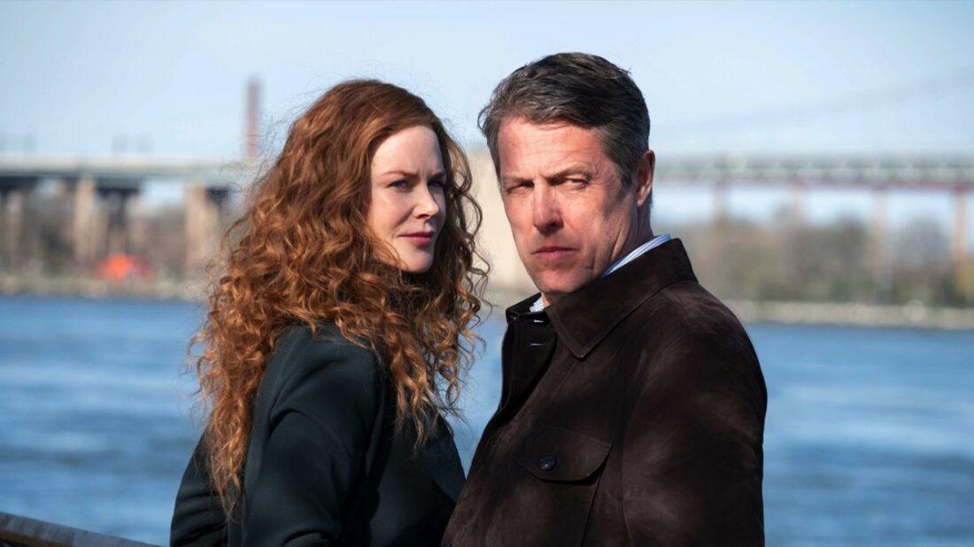 A photo of Nicole Kidman and Hugh Grant in The Undoing