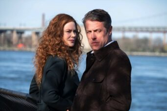 A photo of Nicole Kidman and Hugh Grant in The Undoing