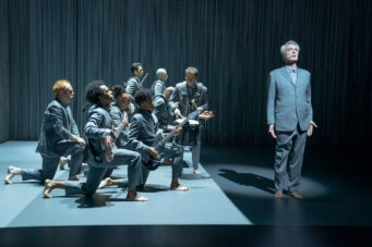 A photo from David Byrne's American Utopia