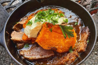 Brisket with sweet potato at Fet Zun