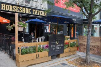 A photo of Toronto music venue Horseshoe Tavern