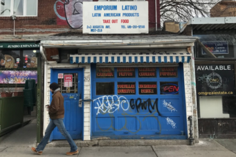 A photo of Latino Emporium in Kensington Market
