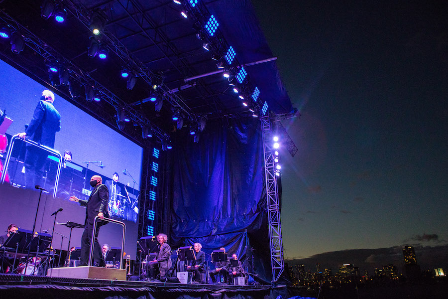 The Toronto Symphony Orchestra performing at CityView Drive-In on October 7