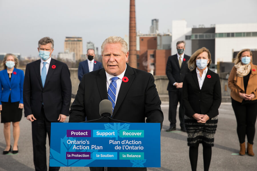 Doug Ford Moves Most Of The Gta Into Red Zone As Covid 19 Cases Surge