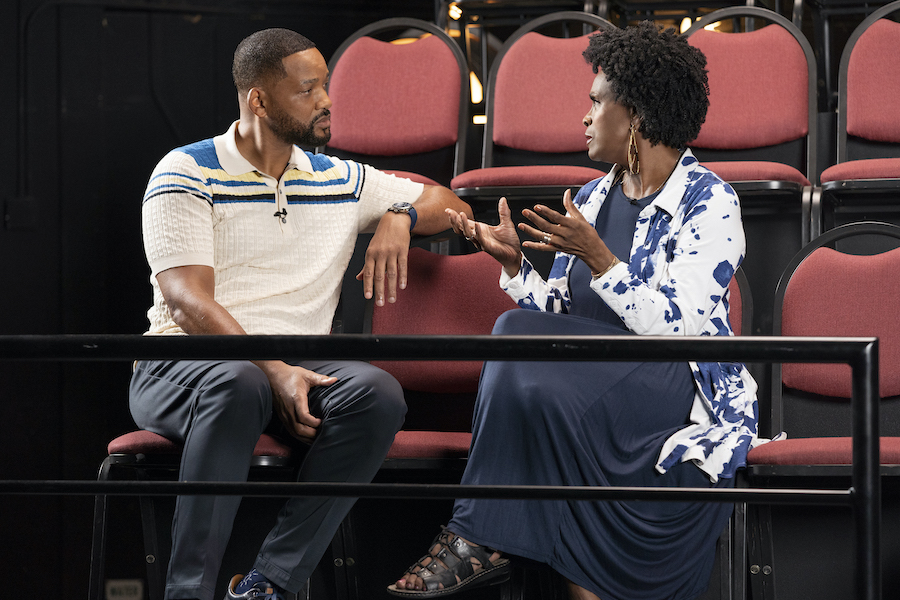 Fresh Prince Reunion Janet Hubert and Will Smith