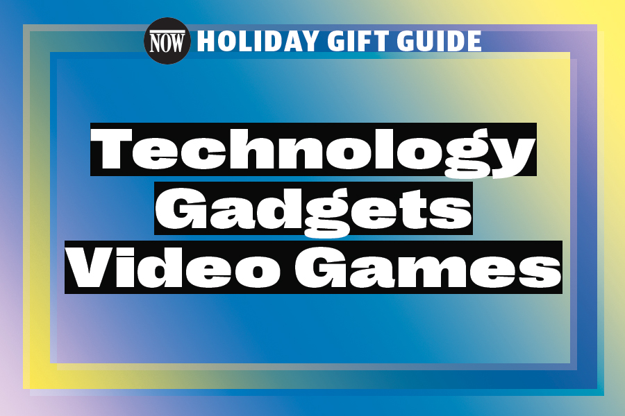 A gift guide to tech gadgets and video games