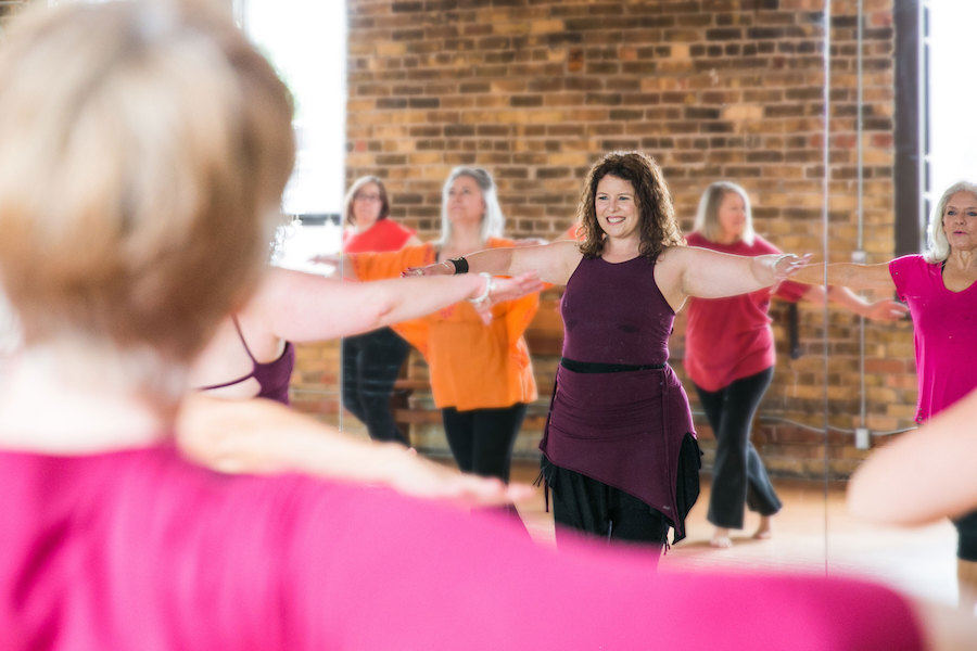 A photo of Toronto fitness instructor Jennifer Hicks