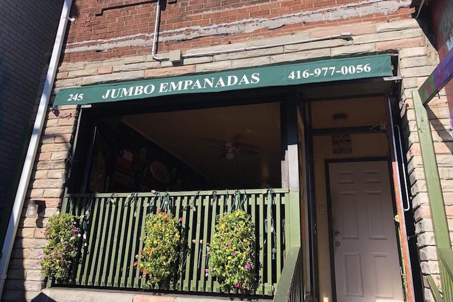 A photo of Jumbo Empanadas in Kensington Market