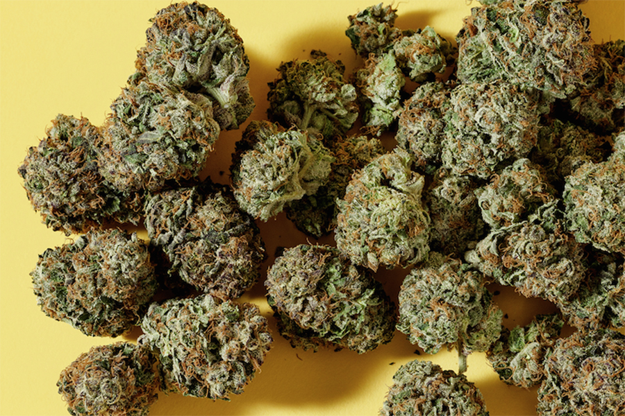 Whole buds of sativa, indica or hybrid cannabis flower by Pure Sunfarms are among the best cannabis products on the market right now