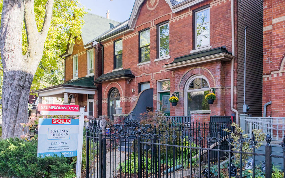 Toronto home prices October