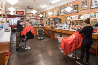 A photo of the Toronto barber shop Town Barber