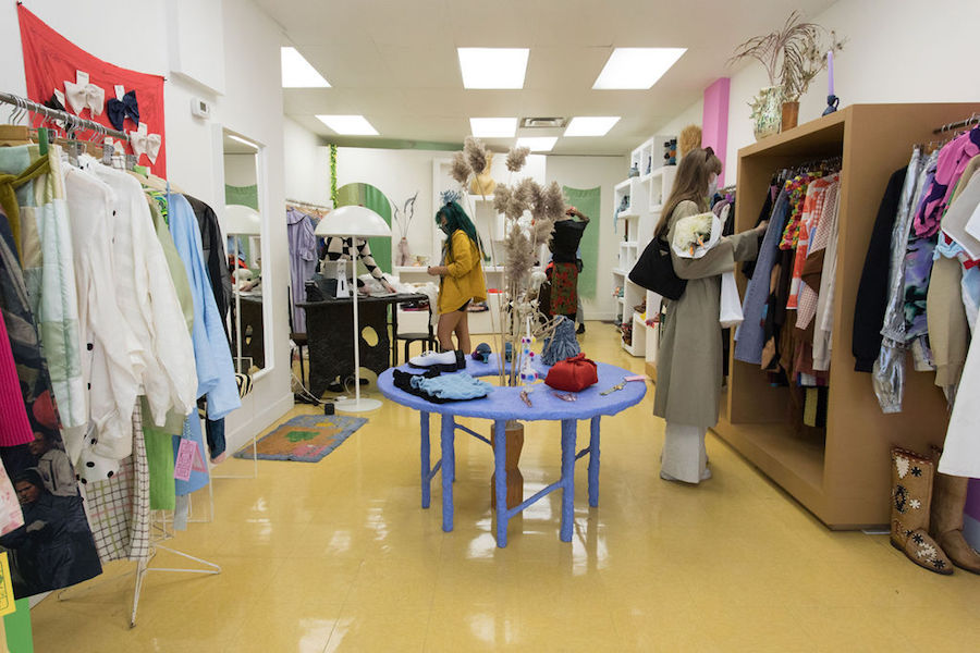 Queen West boutique 100% Silk is using Sook