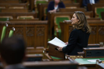 Finance minister Chrystia Freeland is heading Canada's post-COVID economy recovery