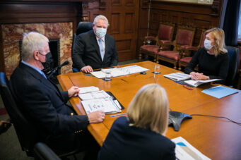 Doug Ford meets with COVID-19 vaccine task force