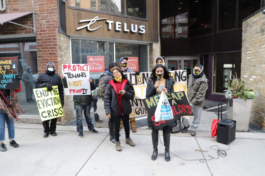 Eviction rally December 5 in Toronto