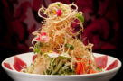 The singapore slaw at Lee Restaurant