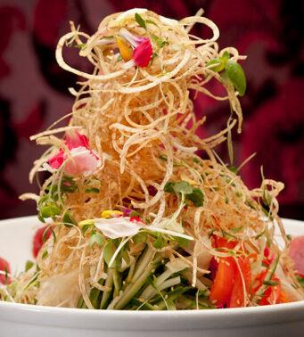 The singapore slaw at Lee Restaurant