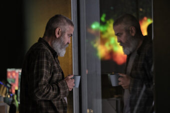 A still of George Clooney in The Midnight Sky.